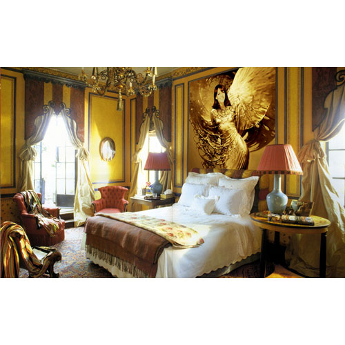 The classical bedroom